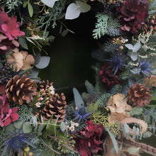 Load image into Gallery viewer, 'The Lydia One' - Christmas Wreath - LOCAL DELIVERY