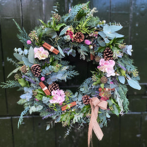 'The Vintage One' - Christmas Wreath - NATIONWIDE DELIVERY