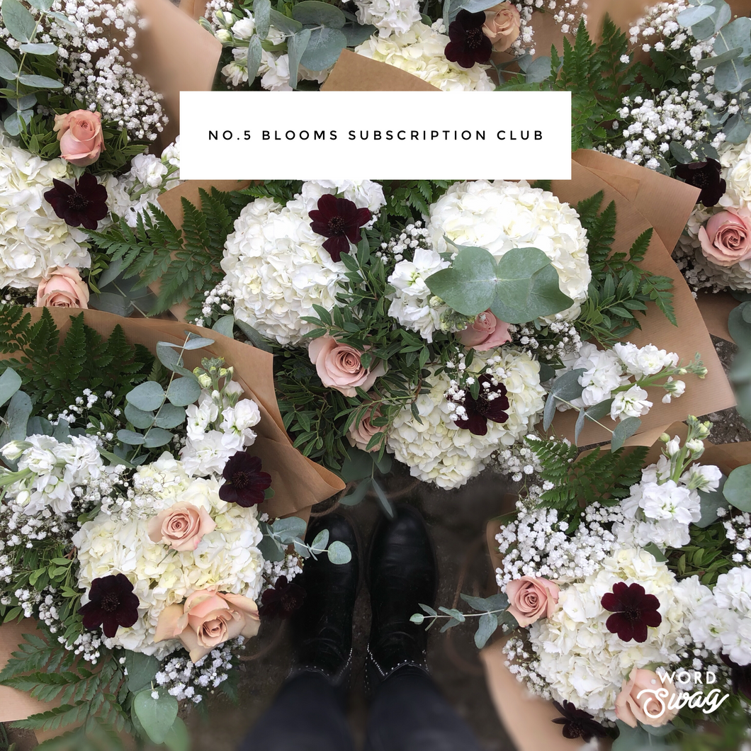6 Month Subscription Blooms | Local Delivery