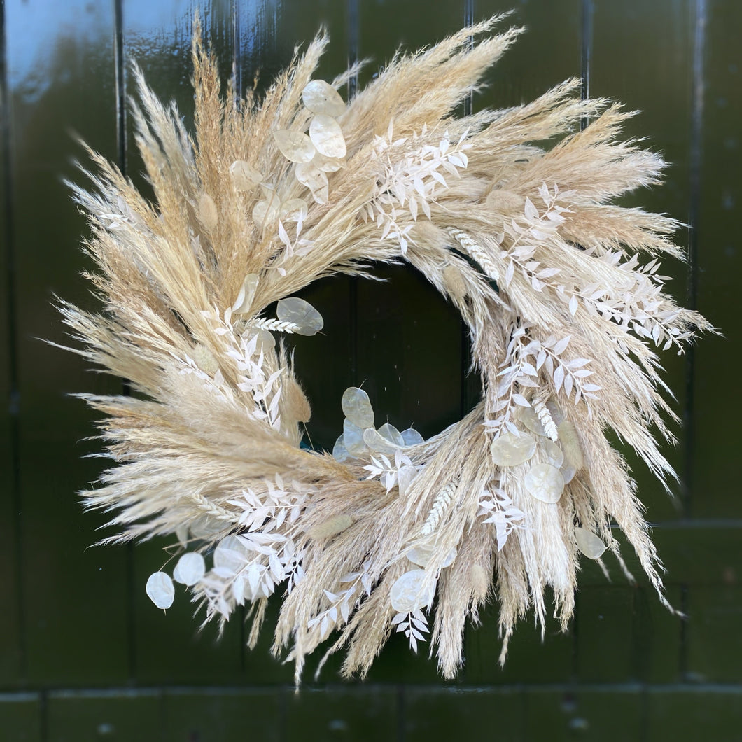 Dried Pampas Wreath