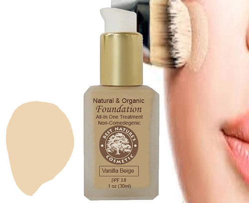 Natural Organic Liquid Foundation