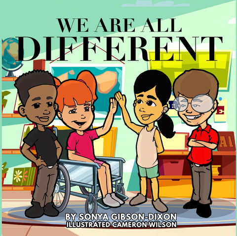 We Are All Different (Hard Copy Edition)