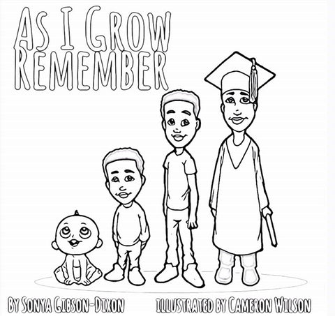 As I Grow Remember Coloring Book Edition