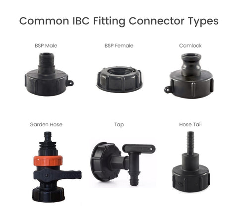 Common types of IBC tank fittings
