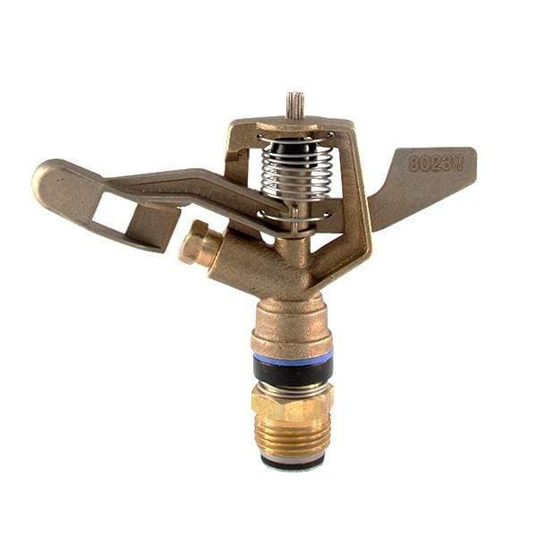 "Wetta 8023 Full Circle Impact Sprinkler male 1/2"" Brass Impact Sprinkler Wetta Sprinkler"
