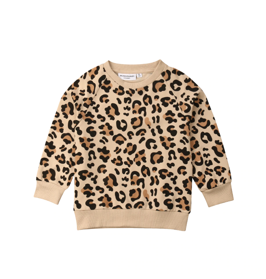 Little Gems Leopard Sweatshirt