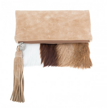 Load image into Gallery viewer, VASH - SpringBok & Hazelnut Clutch