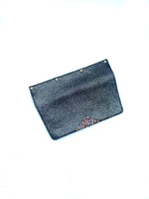 Load image into Gallery viewer, Interchangeable Flaps for Black Sweetchy Leather Handbag - Sparkle Black/Glitter