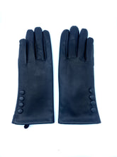Load image into Gallery viewer, Leather Gloves with Side Button Detail