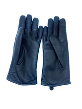 Load image into Gallery viewer, Leather Gloves w/ Ribbed Top
