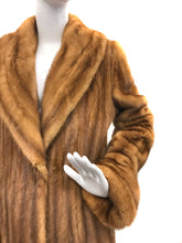 Load image into Gallery viewer, Carolina Herrera - Whiskey Mink Coat