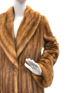 Carolina Herrera - Whiskey Mink Coat
