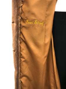 Carolina Herrera - Whiskey Mink Coat - Monogram