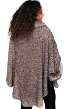 Load image into Gallery viewer, Beige Wool Cape