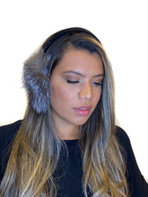 Load image into Gallery viewer, Indigo Fox Earmuffs