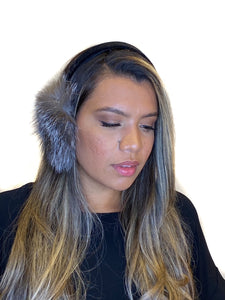 Indigo Fox Earmuffs