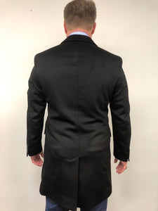 Back - Car Coat Cashmere Black