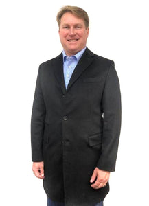 Car Coat Cashmere Black