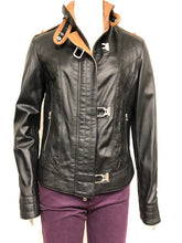 Load image into Gallery viewer, Soft Leather Jacket