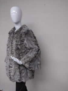Grey Sectioned Mink - Cape
