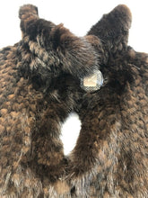 Load image into Gallery viewer, Mahogany Mink Knit Jacket