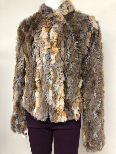 Sheared Beaver and Red Fox Jacket