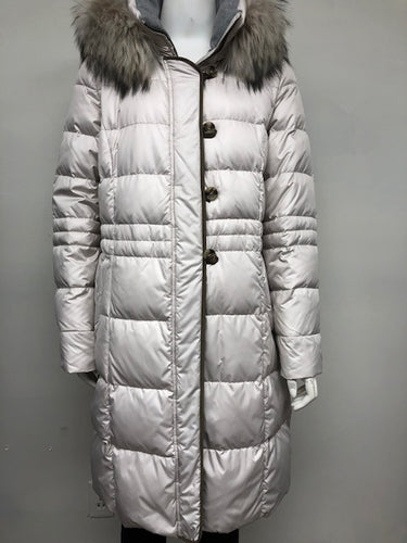 Ivory Premium Goose Down Parka w/Hood