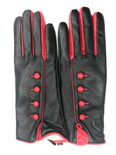 Load image into Gallery viewer, Red and Black Gloves