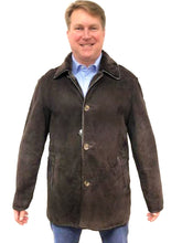 Load image into Gallery viewer, Shearling Coat -Brown