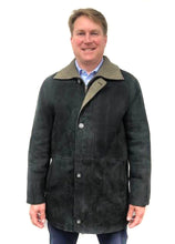 Load image into Gallery viewer, Shearling Jacket- Black