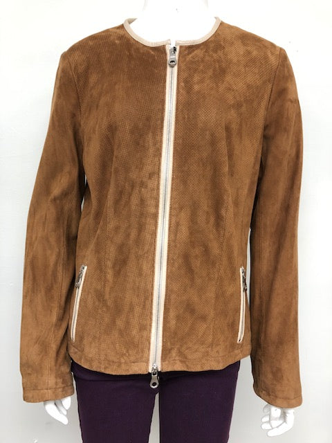 Light Brown Suede Jacket
