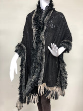 Load image into Gallery viewer, Black Lace and Rex Scarf