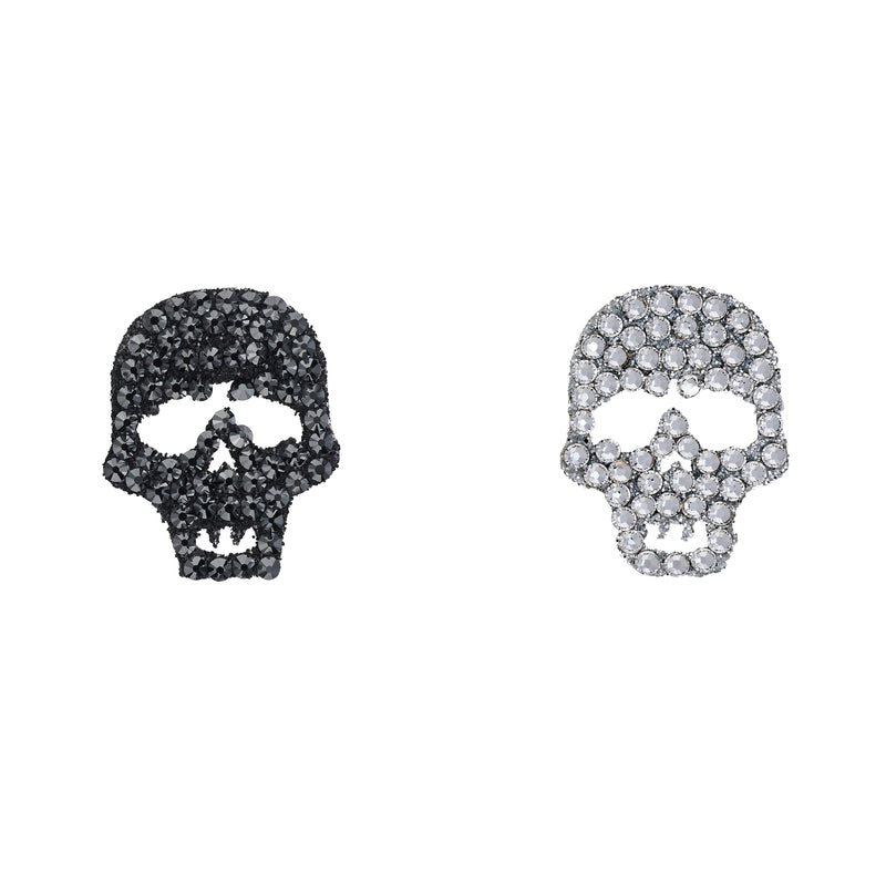 Skull Duo - Black & White