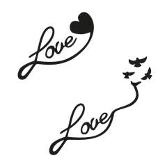Love de toi - Black