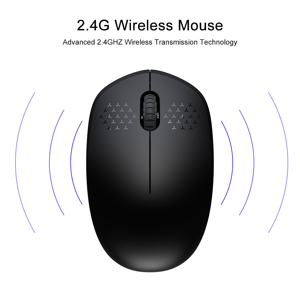 SeenDa 2 4GHz Wireless Mouse - Mac, Windows and Linux Compatible