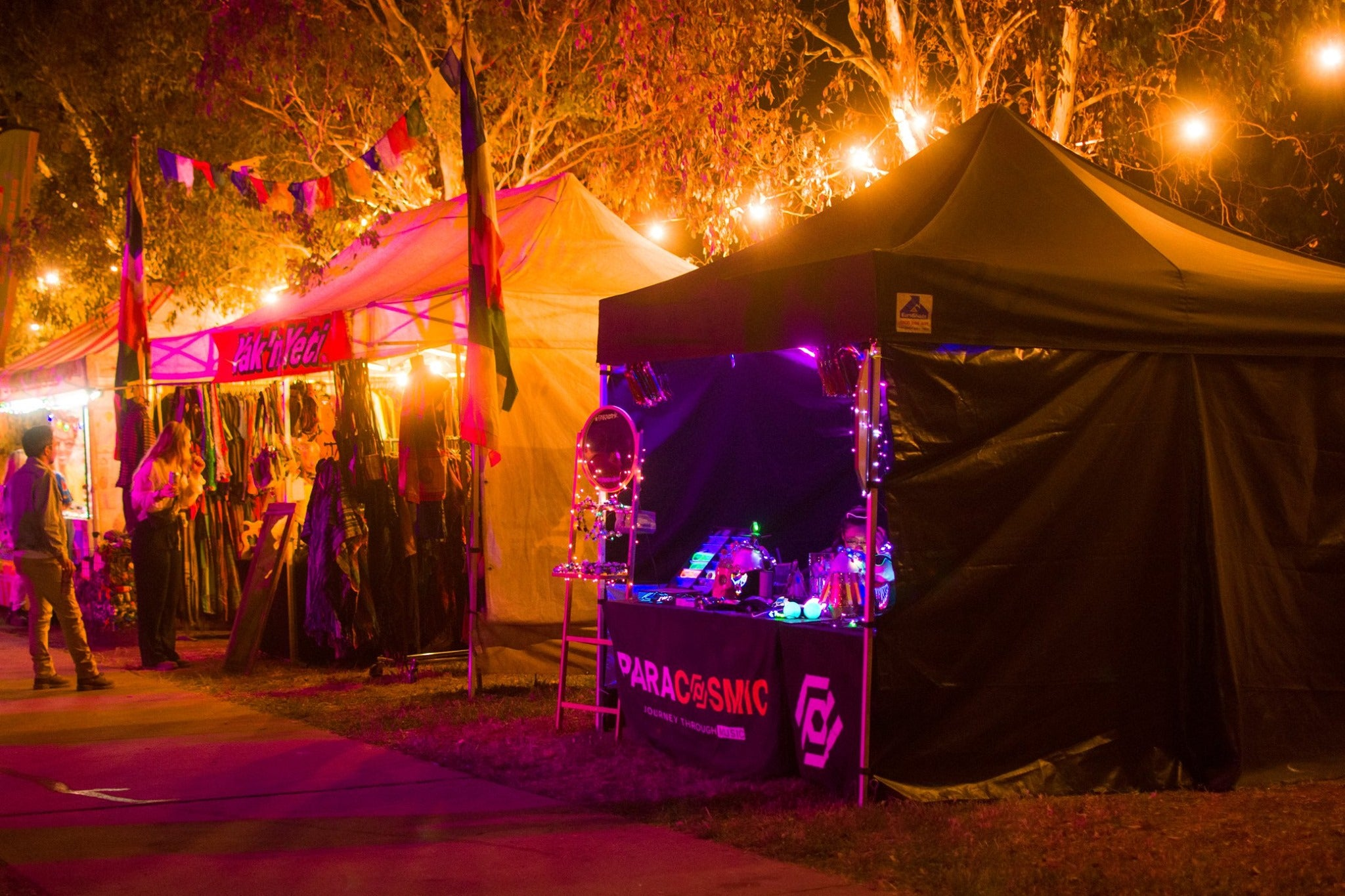 PARACOSMIC Pop Up Marquee Store at Luft 2019