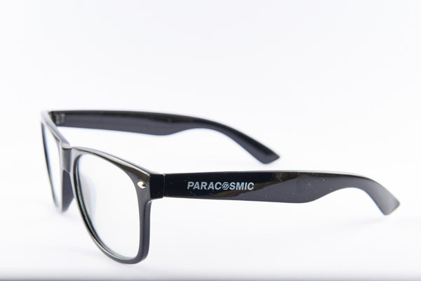 PARACOSMIC Diffraction Glasses - Black (2-Pack) - PARACOSMIC