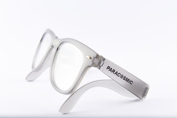 PARACOSMIC Foldable Diffraction Glasses - Charcoal Grey - PARACOSMIC