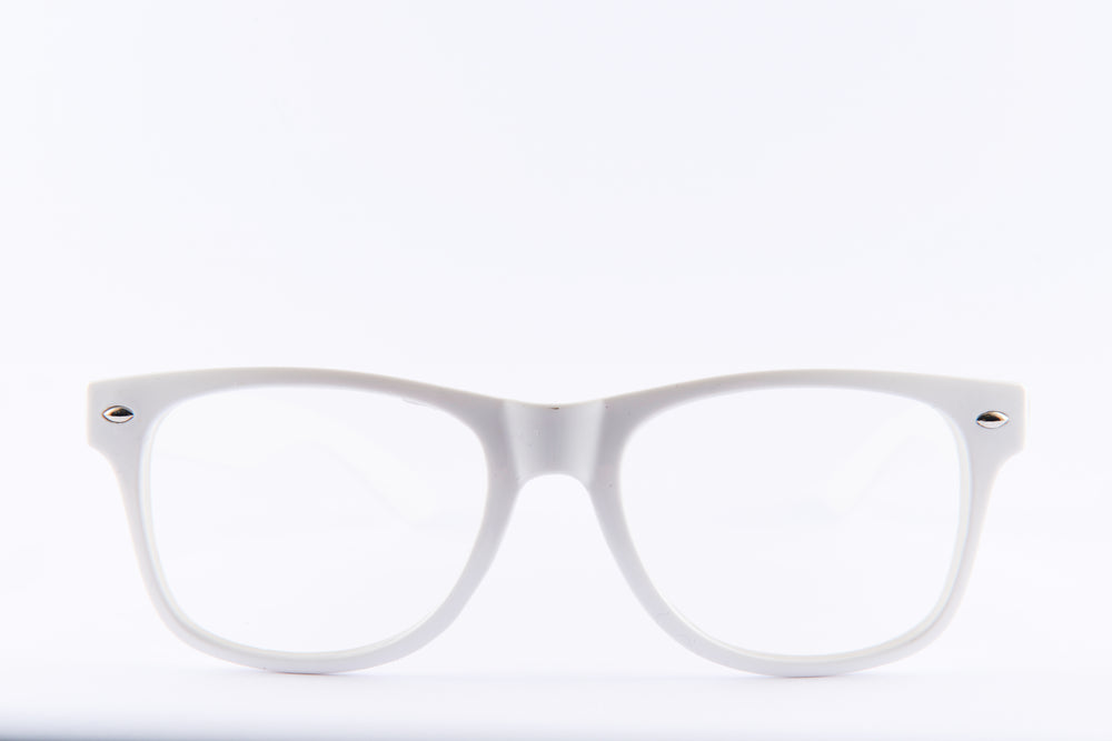 PARACOSMIC Diffraction Glasses - White - PARACOSMIC