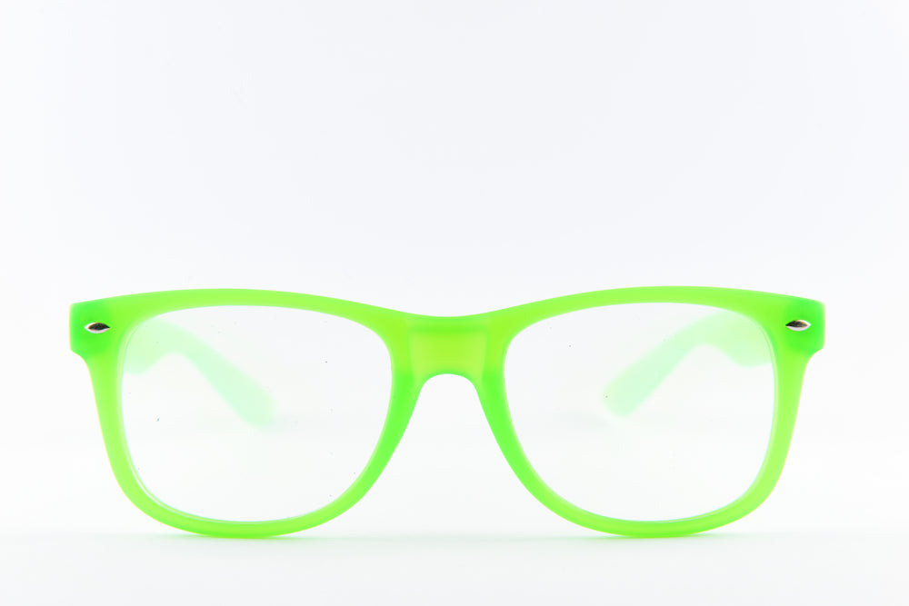 PARACOSMIC Diffraction Glasses - UV Green - PARACOSMIC