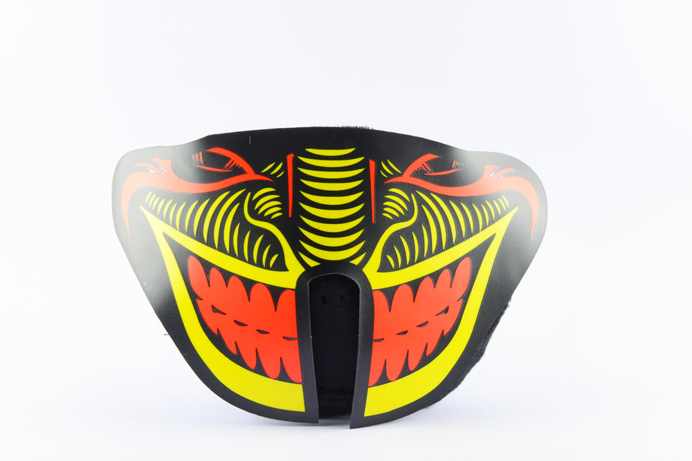 Serpent Panel Mask