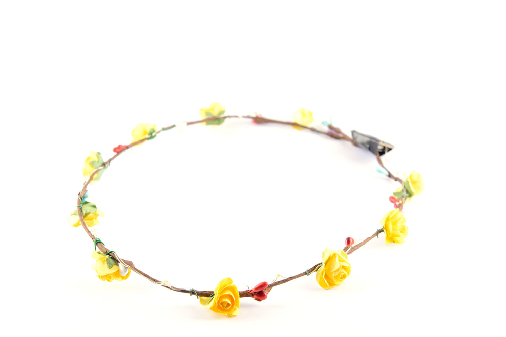 Light Up Flower Crown - PARACOSMIC
