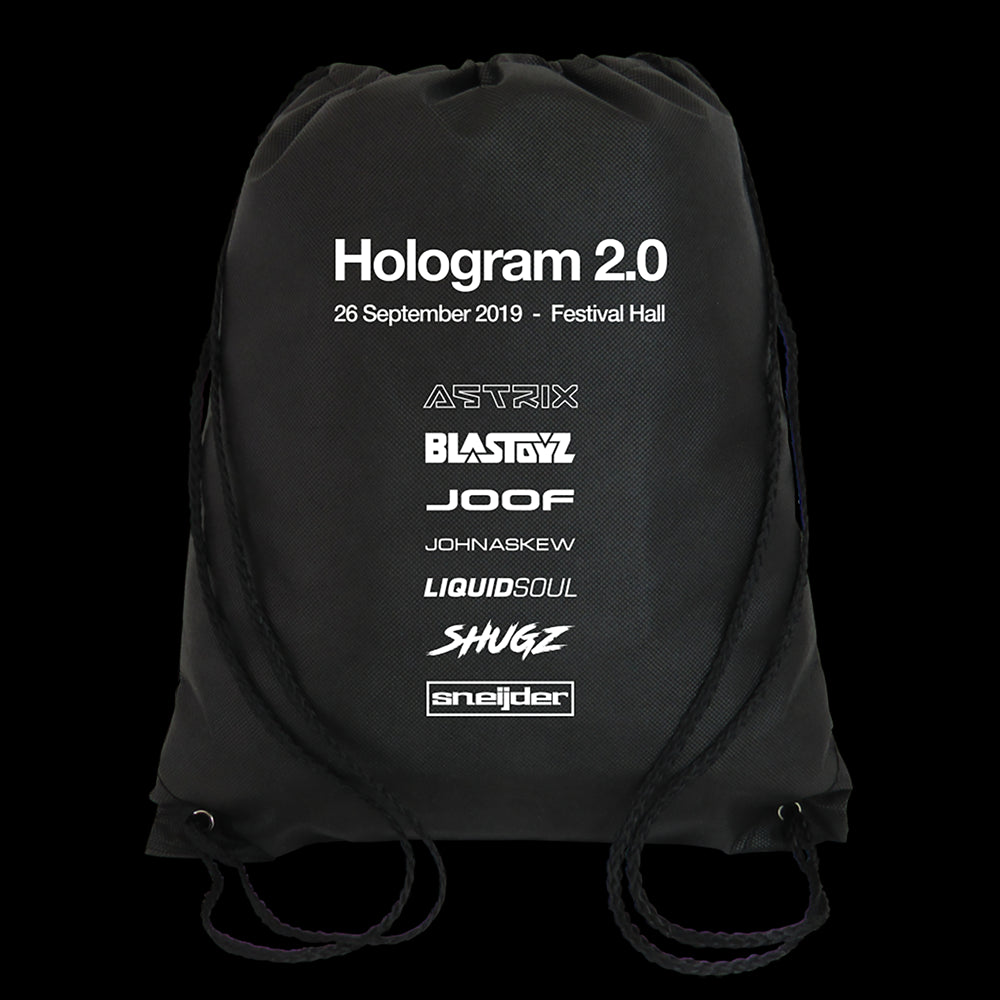 Hologram 2.0 Drawstring Bag