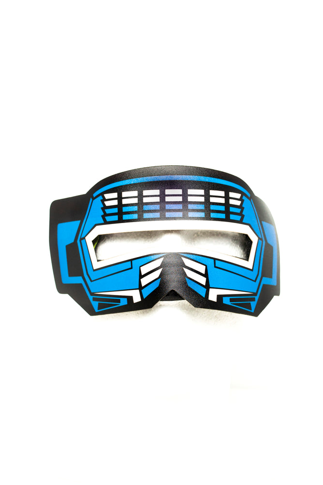 Blue Ranger Panel Eye Mask