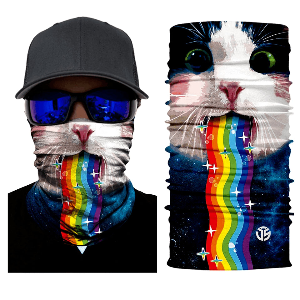 Nyan Kitty Face Mask Bandana