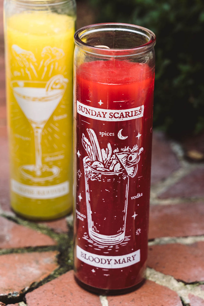 Sunday Scaries Spirit Candle