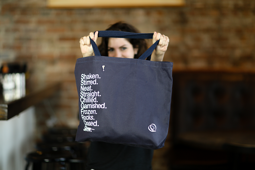 Shaken, Not Stirred Tote Bag