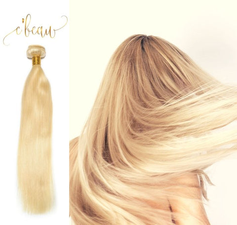 Blonde Brazilian Virgin Hair - Straight 1 Bundle