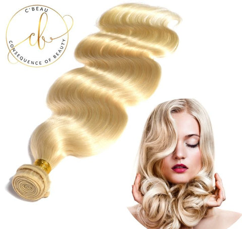 Blonde Brazilian Virgin Hair - Body Wave 1 Bundle