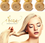 Blonde Brazilian Virgin Hair - Straight 4 Bundles